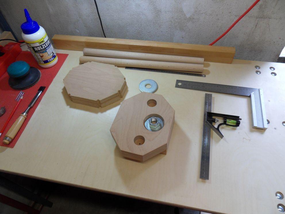 Laser Entfernungsmesser Selbstbau : Holz schraubstock selbstbau bauanleitung zum selberbauen 1 2