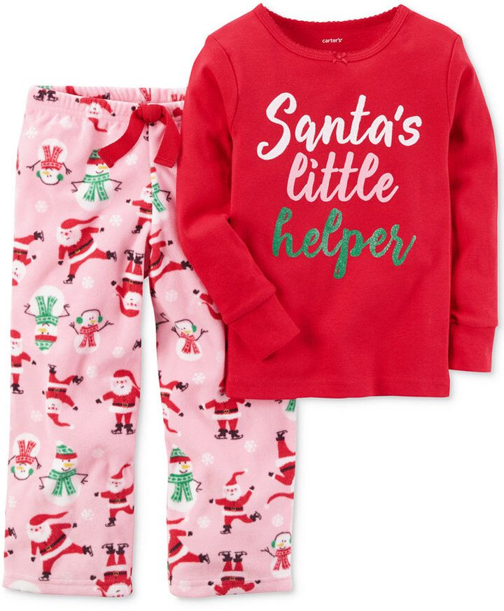 dc7d3f163 So adorable! Getting these for Amber. Carter s 2-Pc. Santa s Little ...