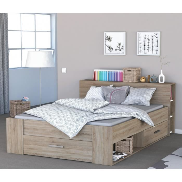 Beau Lit Avec Tiroir Decoration Francaise In 2019 Bed Frame