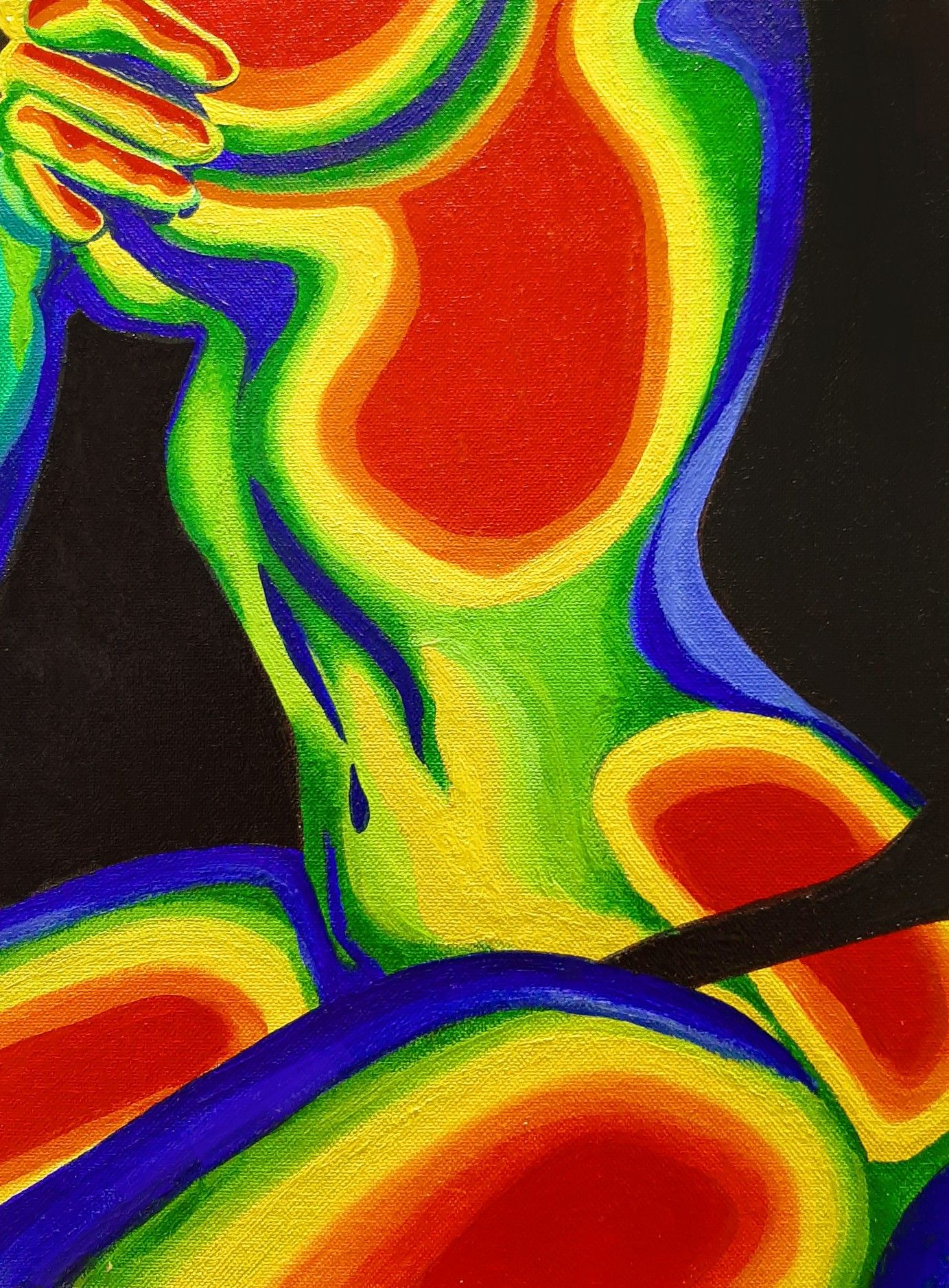Thermal Body Art In 2020 Abstract Art Painting Painting Art Projects Art
