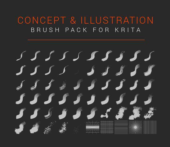 Pyteo S Concept Illustration Brush Pack Digital Art Tutorial