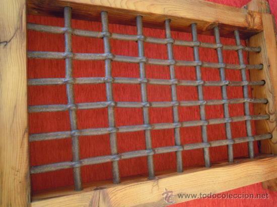 Reja de hierro antigua de hierro forjado forja siglo xv muy bonita antig edades t cnicas - Rejas de forja antiguas ...