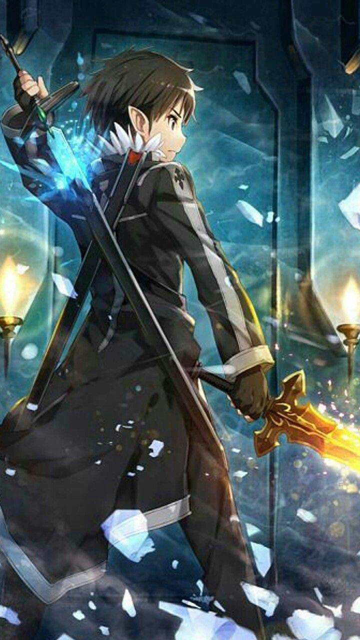 Skill Connect Kirito Sword art online wallpaper, Sword