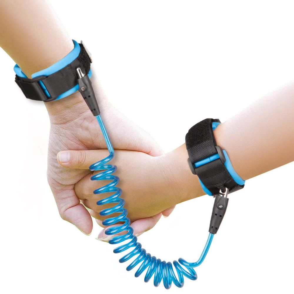 Safety Harness For Toddler Walking Kids Child Restraint Wrist Leash NEW Blue