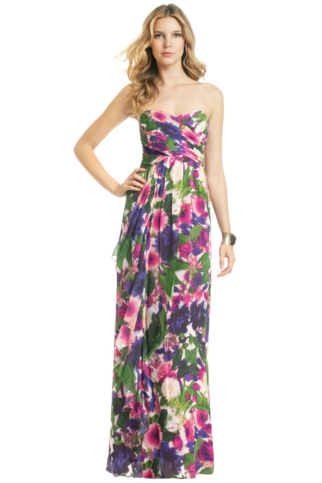 Rent Yuyuan Garden Maxi by Nicole Miller for $70 only at Rent the ...