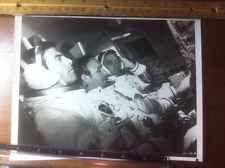 ASTRONAUT SPACE TRAVEL ROCKET SHIP GENE HACKMAN MOVIE FILM 1970's VINTAGE PHOTO