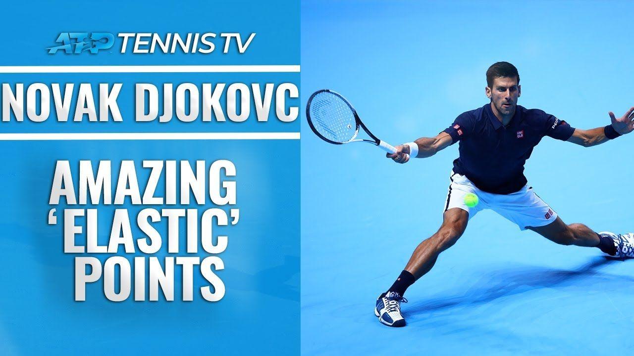 Amazing Novak Djokovic Elastic Points Video On Demand Samsung Smart Tv Novak Djokovic