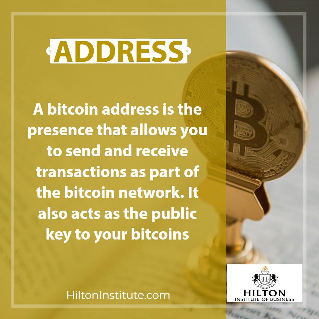 bitcoin address transactions
