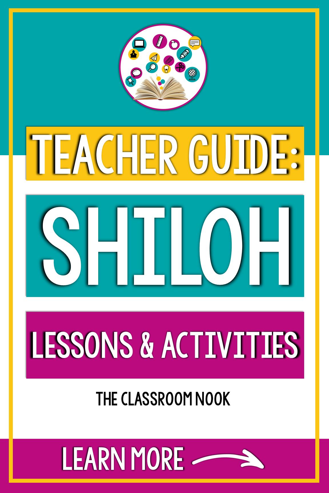 Novel Study: Shiloh in 2020   Teaching reading strategies [ 1728 x 1152 Pixel ]