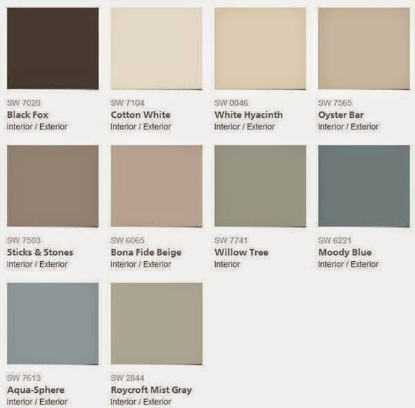 2015 color forecast sherwin williams evolution of style for Best neutral brown paint color