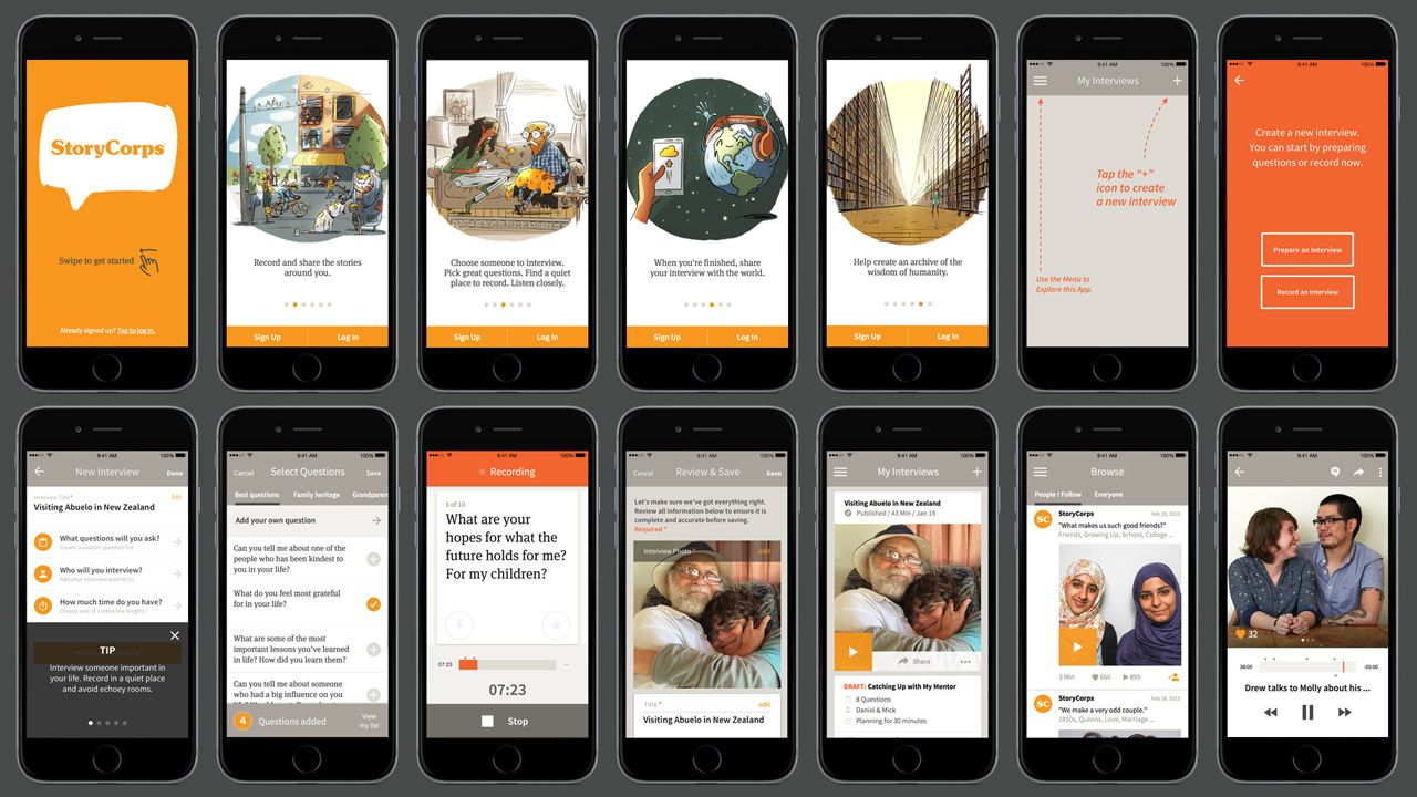 StoryCorps Wins The TED Prize And Builds An App That Lets
