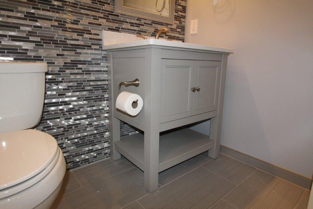 Tiled Wall In Basement Bathroom By Majestic Home Solutions Llc Bathroom Design Basement Bathroom Bathroom