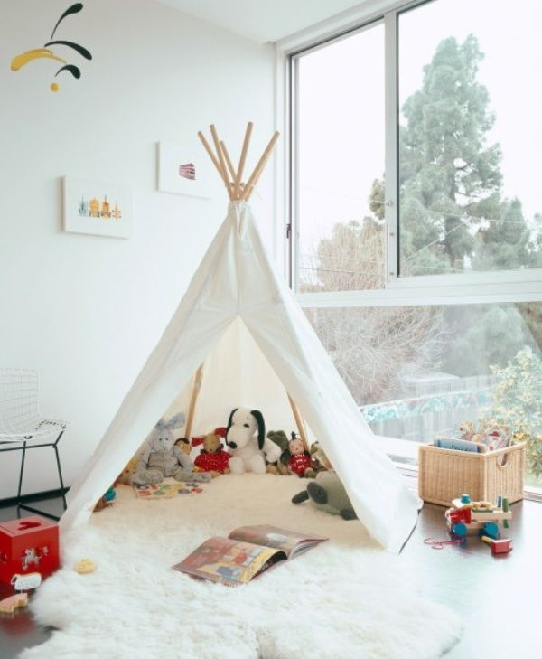 20 Cool Teepee Design Ideas For A Kids Room Kidsomania Bedroom For Girls Kids Teepee Kids Kids Room