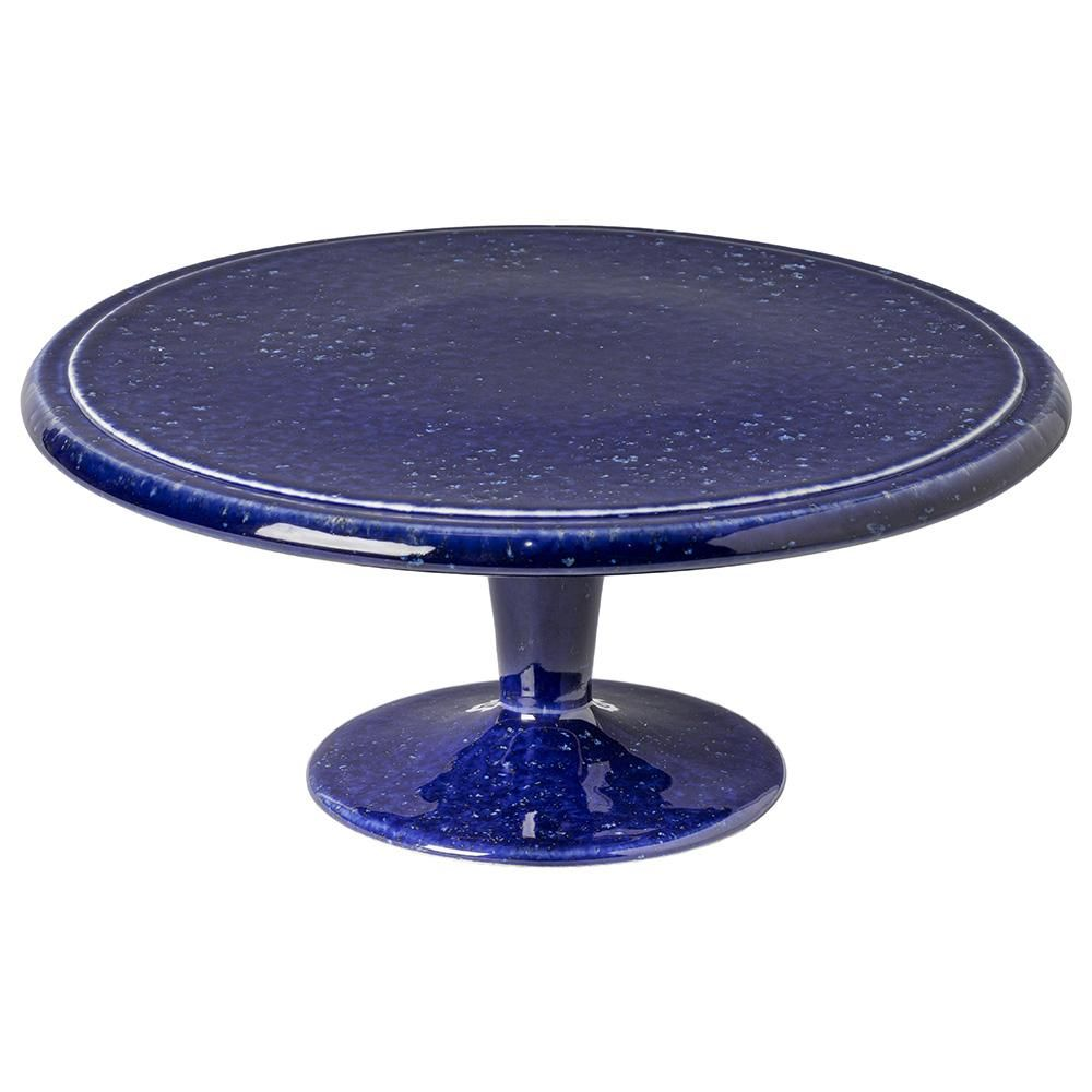 Photo of Casafina Abbey Stoneware Ceramic Footed Cake Plate
