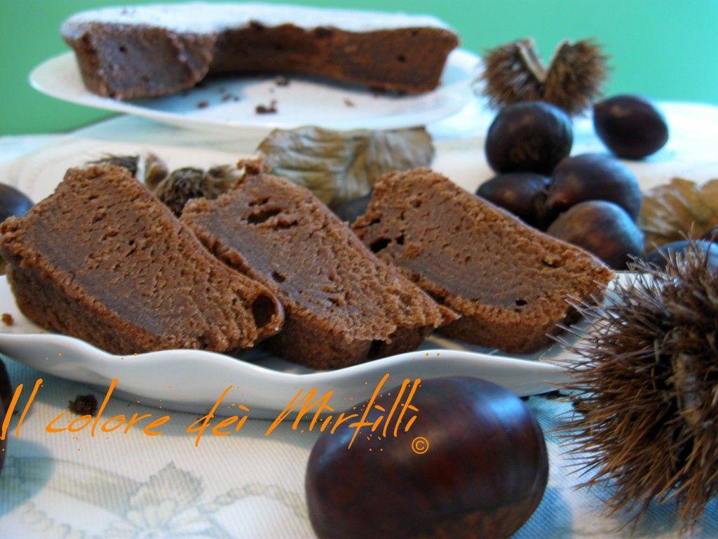 Torte Da Credenza Al Cioccolato : Ciambella di crema marroni e cioccolato dolci da
