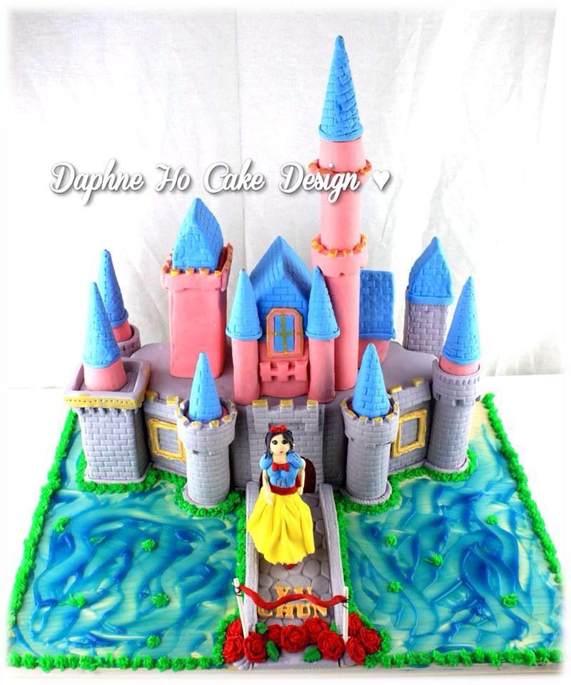 Disney Castle Cake By Daphne Ho Cake Design Daphne Ho Cake Design