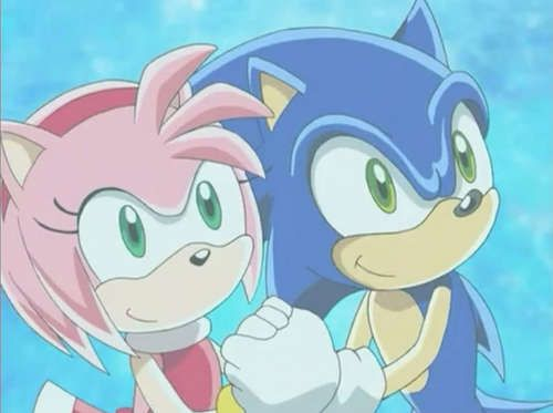 Kiss Me Sonic And Amy Sonic Fan Art Fan Art