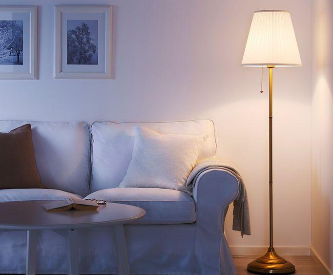 197 Rstid Floor Lamp Little House Ikea Floor Lamp White