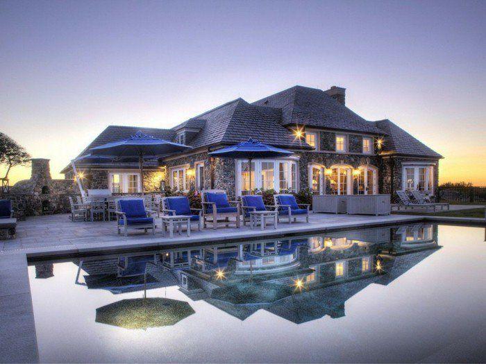 luxus villa zum tr umen 40 faszinierende fotos ferien pinterest. Black Bedroom Furniture Sets. Home Design Ideas