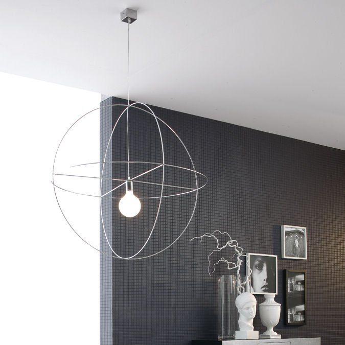 Lampada in sospensione Astrolabio 70 by Adriani & Rossi http://www ...