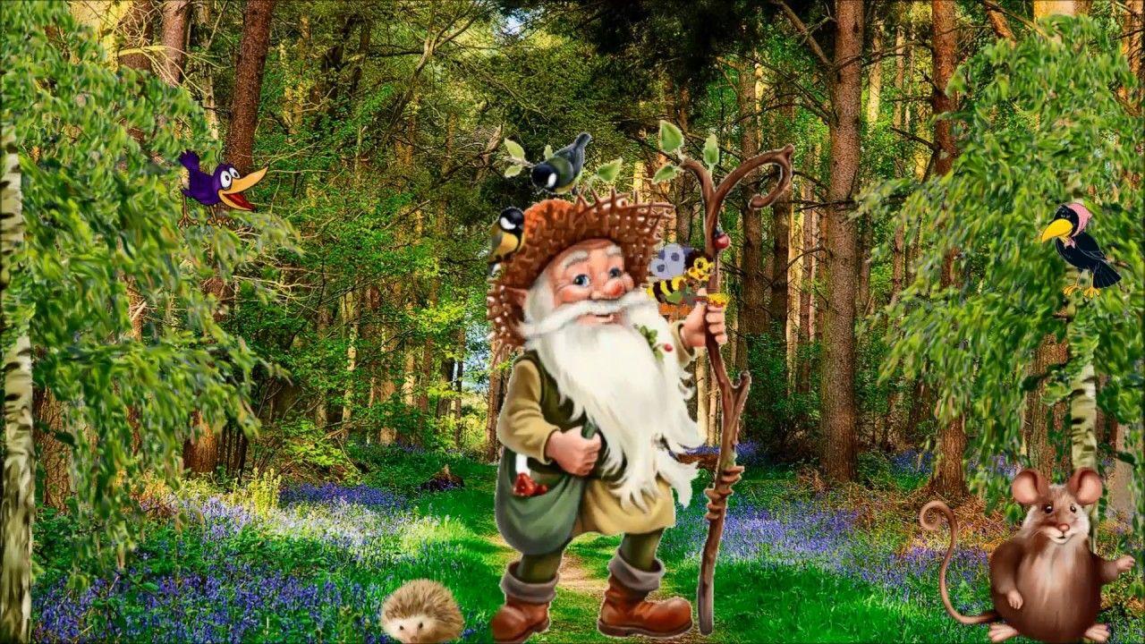 Открыток, картинка лесовичок для детей
