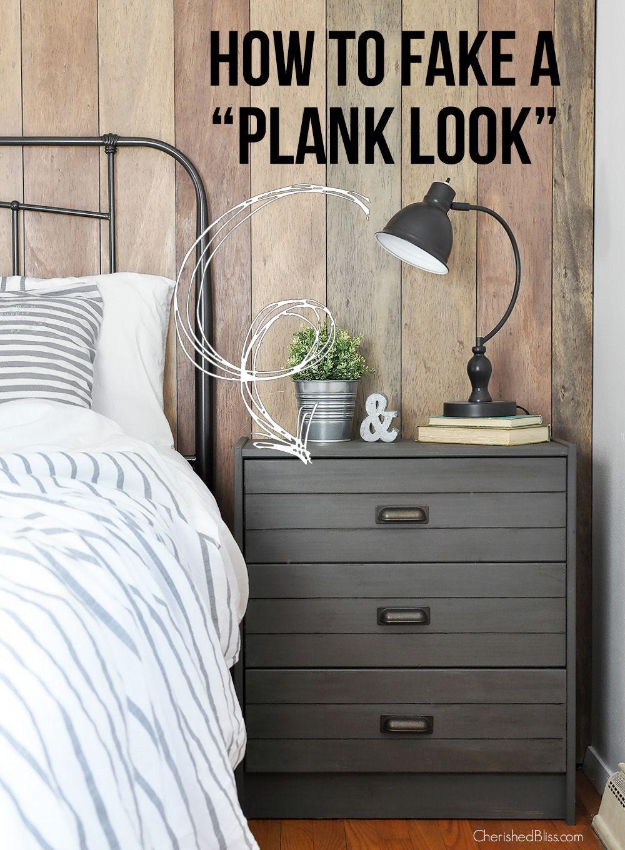 how to fake a diy plank look tiny homes pinterest ikea ikea rh pinterest com