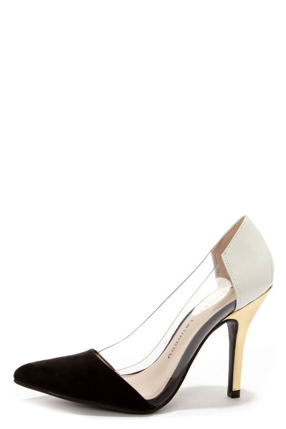 Pointed pumps, Trendy high heels