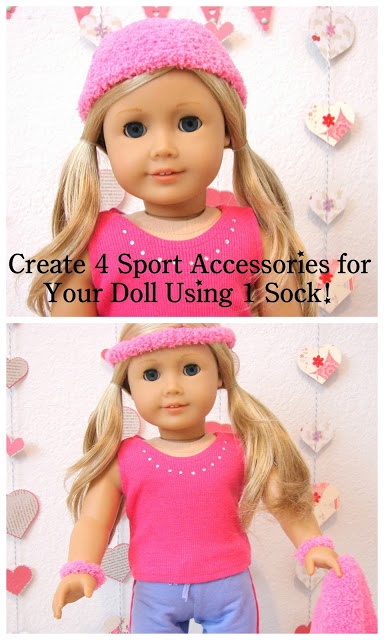 American Girl Doll Play: Doll Craft - Make Sport Accessories for Your Doll #americangirldollcrafts