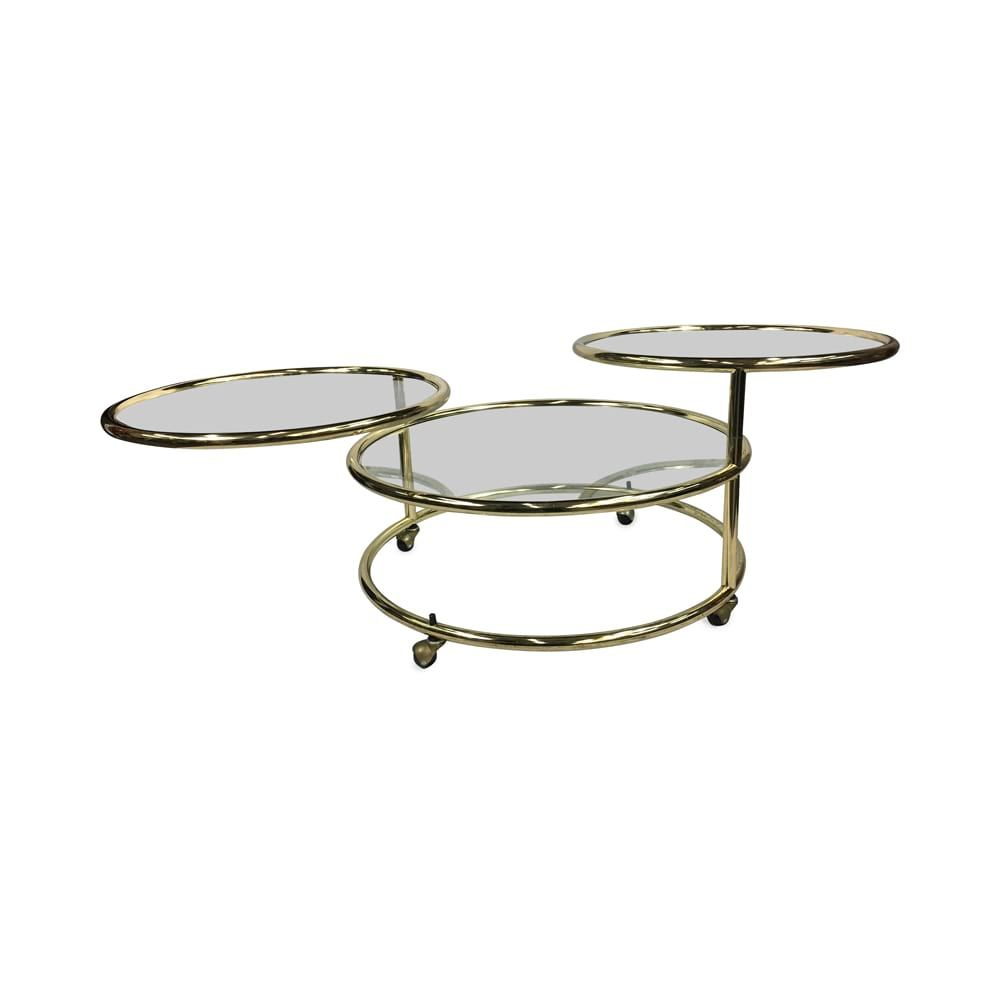 Orbit Lovely Round Brass Amp Glass Mid Century Modern Coffee Table With 3 Tiered Le Glass Mid Century Modern Coffee Table Coffee Table Modern Coffee Tables [ 1000 x 1000 Pixel ]