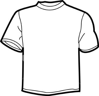Download White T Shirt Clip Art Shirt Template Shirts T Shirt