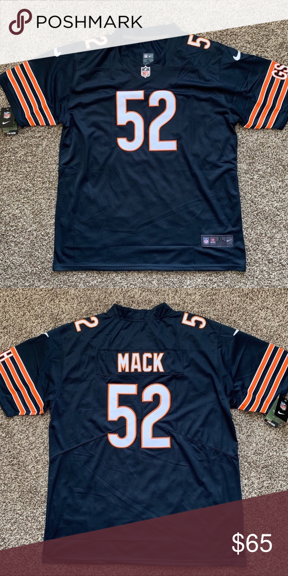 pretty nice 4905b d6dae NWT Khalil Mack Chicago Bears Jersey NWT Khalil Mack Chicago ...