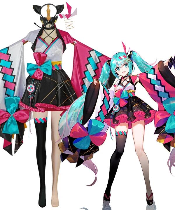 Halloween Miku 2020 Design Vocaloid Hatsune Miku 2020 Magical Mirai Cosplay Costume in 2020