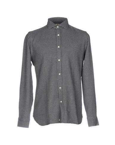 LUIGI BORRELLI NAPOLI Men's Shirt Grey 15 ½ inches-neck
