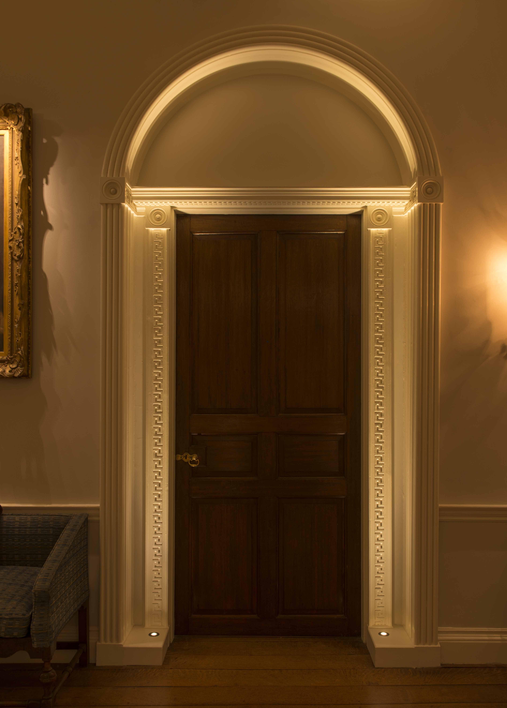 Lighting Basement Washroom Stairs: Entrance Lighting Design By John Cullen Lighting