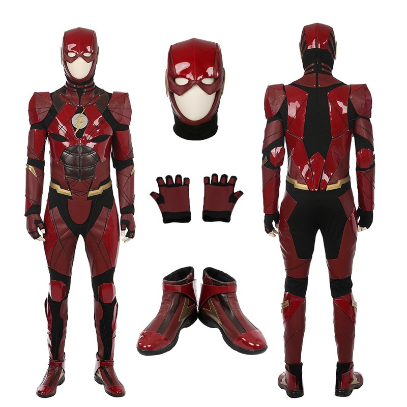 The Flash Helmet Cosplay Superhero Helmet 3d Print Model Superhero Cosplay 3d Printable Models