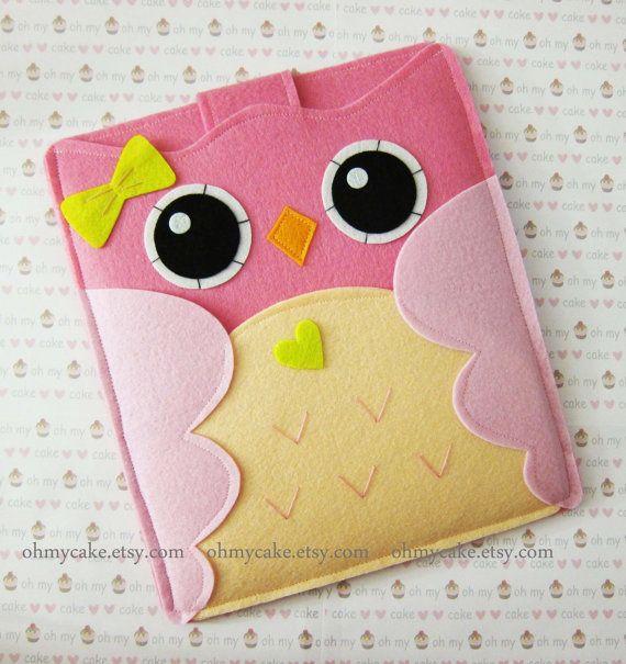 iPad Sleeve iPad Case Felt iPad sleeve Felt iPad case by ohmycake