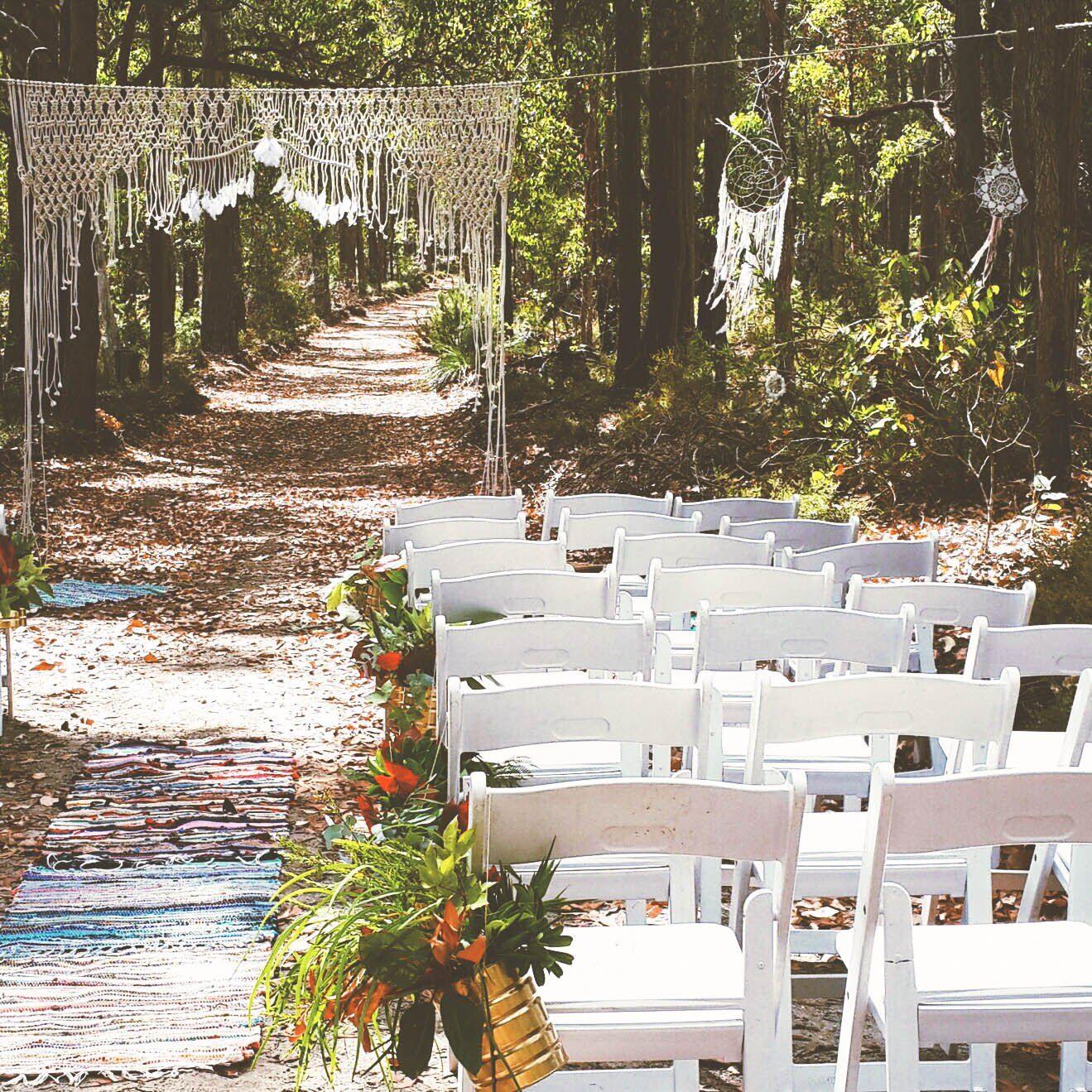 macrame wedding backdrop bohemian wedding deco pinterest