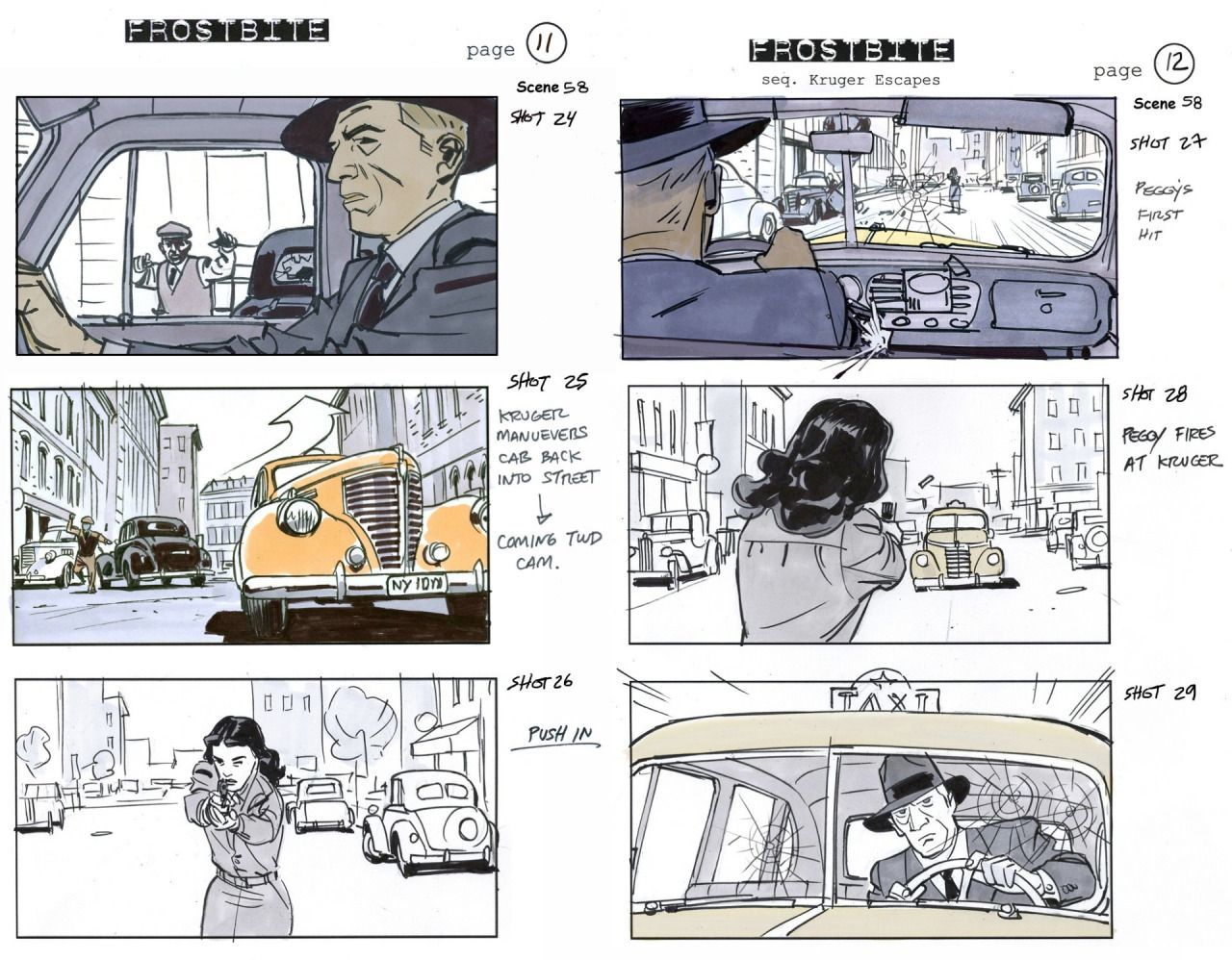 Pin by Nourpro on comic story board Storyboard examples