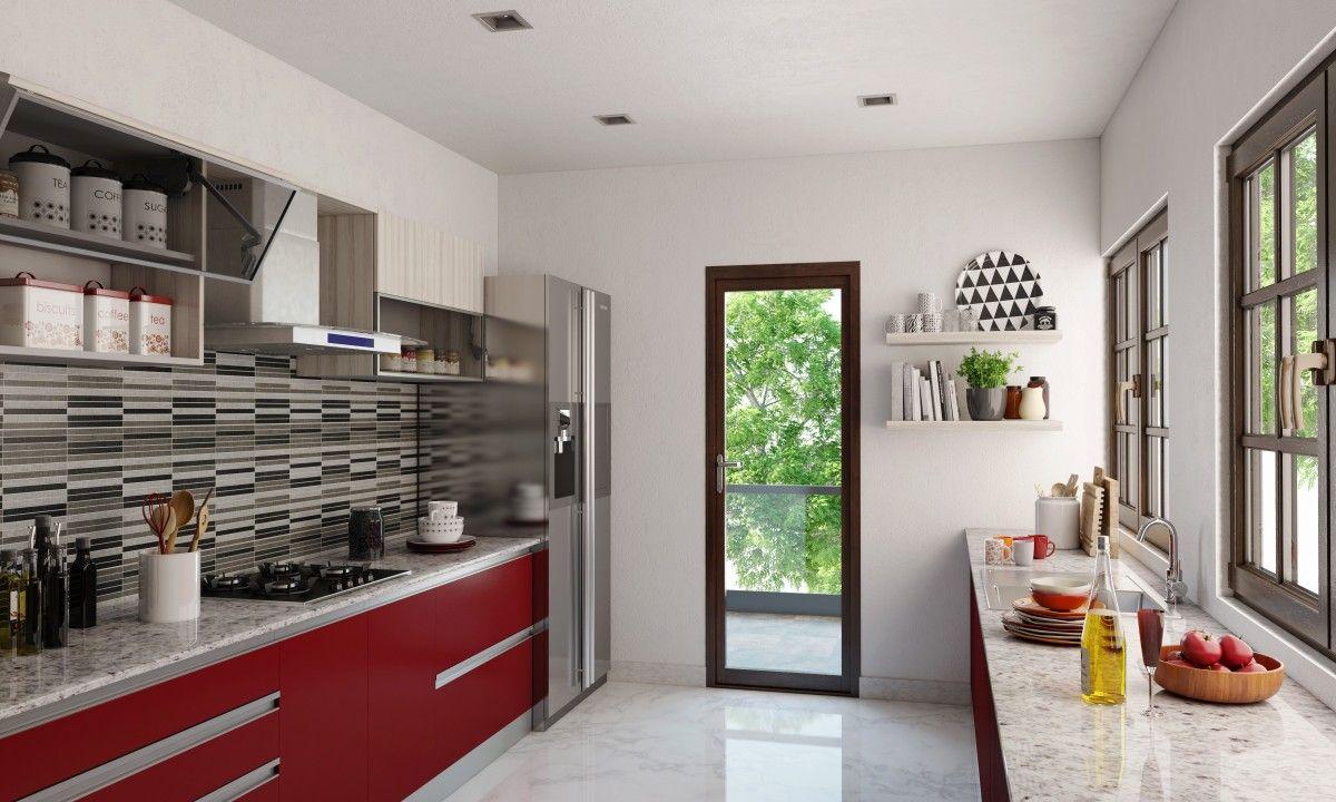 sienna parallel modular kitchen parallel kitchen design stylish kitchen small kitchen backsplash on kitchen interior parallel id=14254