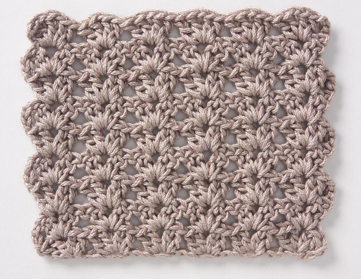 Crochet Stitch: Shell Pattern | Punti All\'uncinetto | Pinterest ...