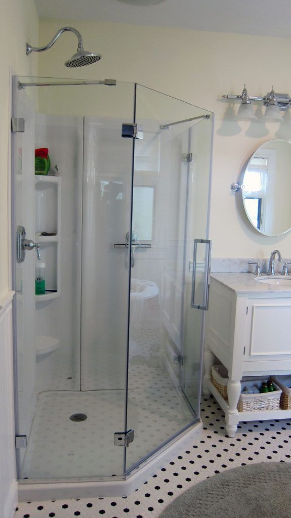 How To Install An Acrylic Shower Unit With Images Bathroom