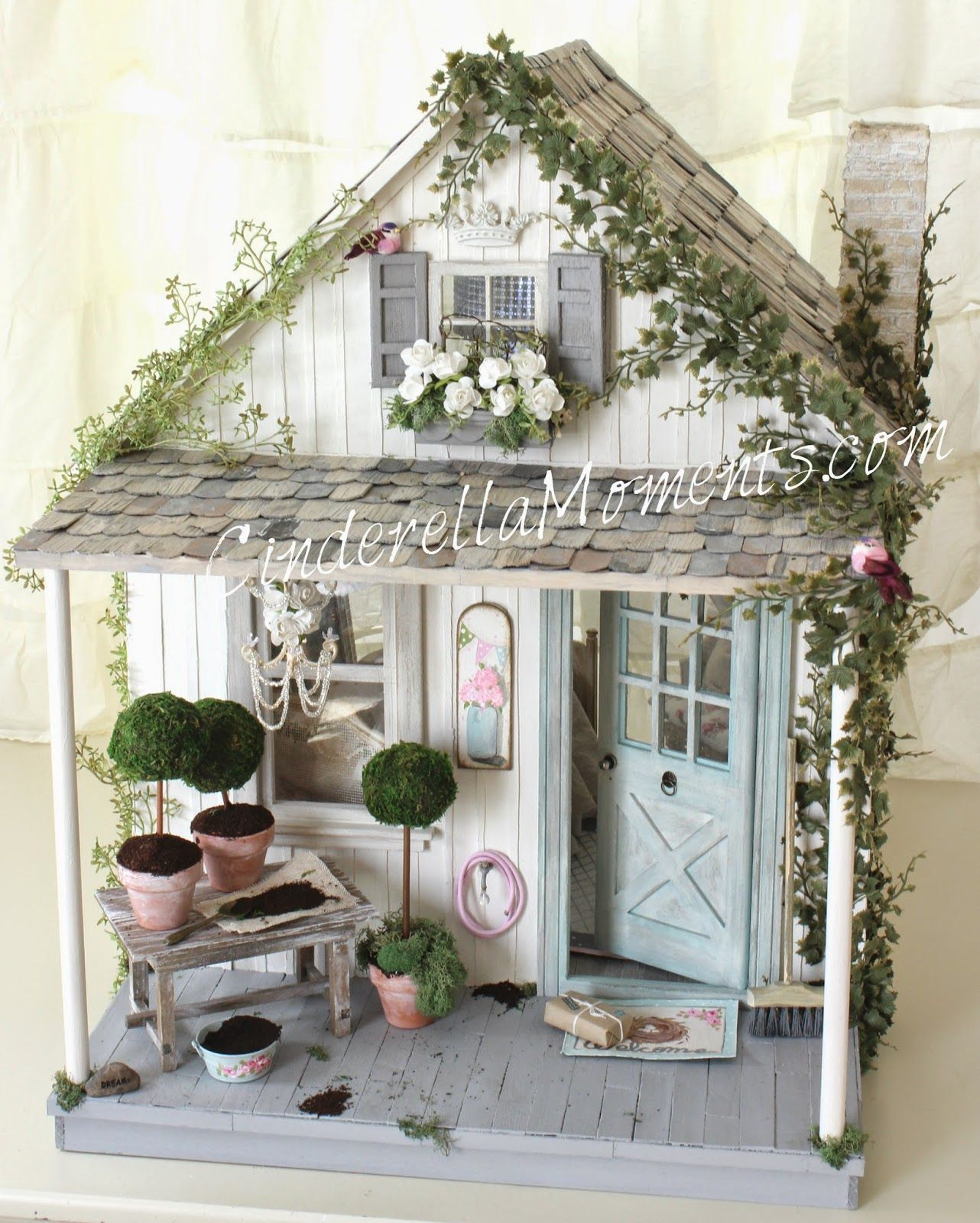 cinderella moments shabby blythe custom dollhouse my style pinterest feengarten miniatur. Black Bedroom Furniture Sets. Home Design Ideas