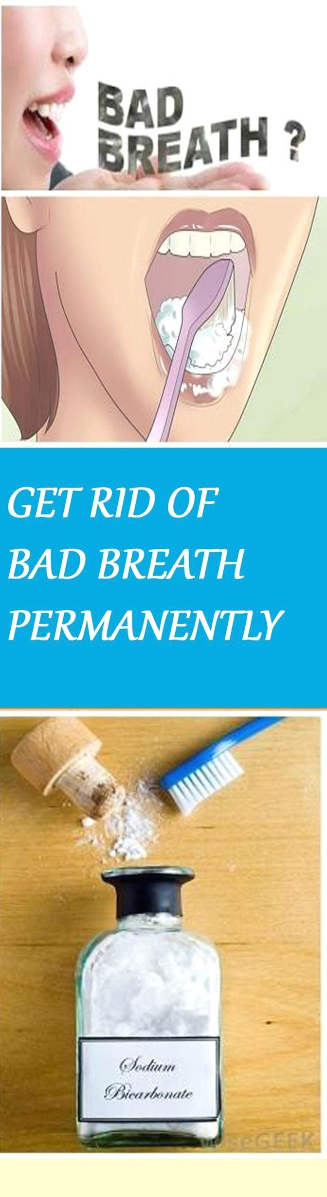 Get Rid Of Bad Breath Permanently With Just 1 Simple Ingredient Explore Health Bad Breath Health Home Beauty Tips