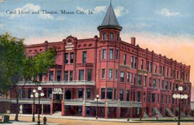 Cecil Hotel and Theatre, Mason City, Iowa.jpg (620×400)