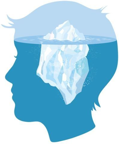 the iceberg metaphor the conscious and How deep is my issue the iceberg metaphor this is the basic self or inner child our sub-conscious attitudes towards life are held in our inner child.