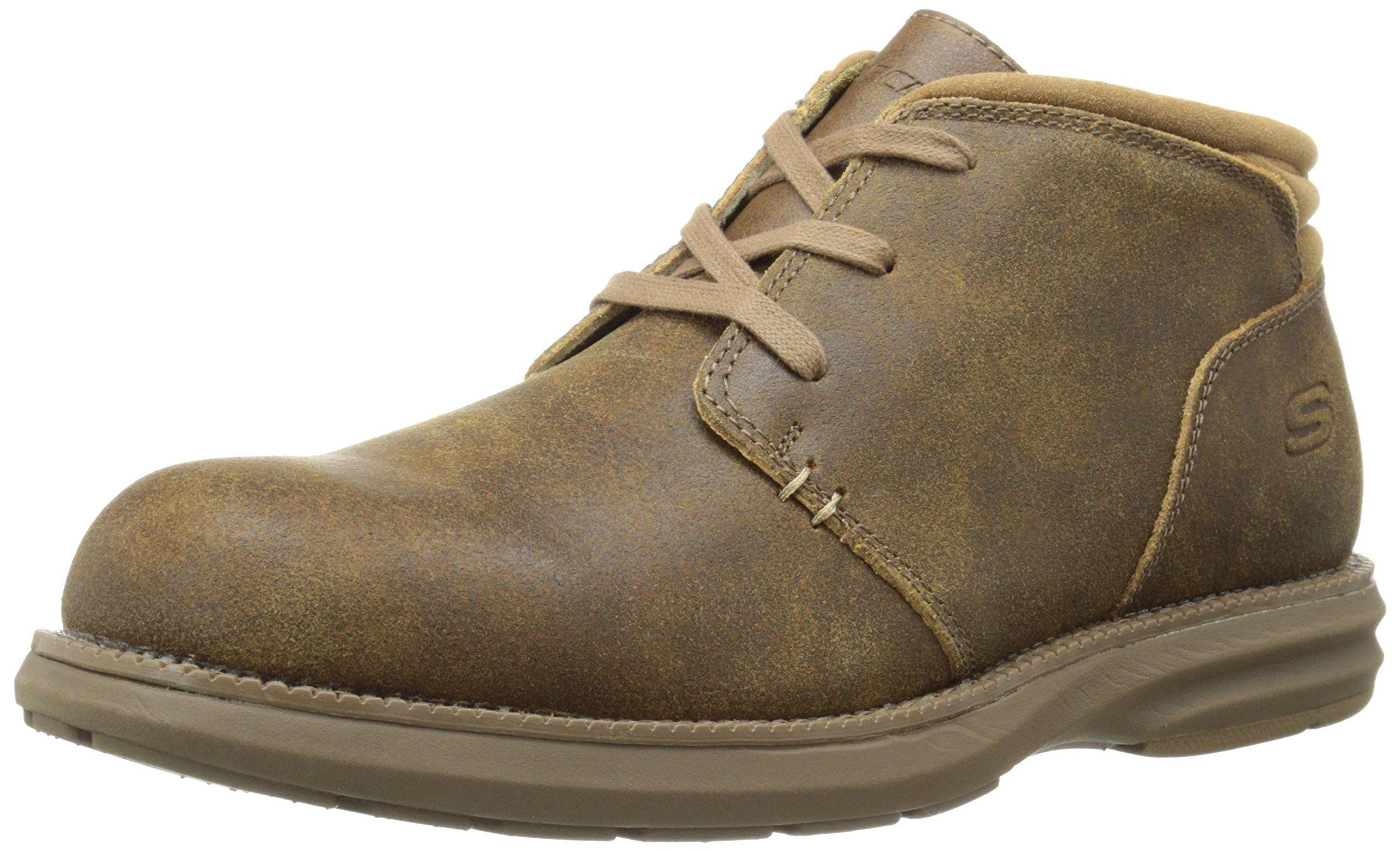 Skechers Usa Men S Volte Herick Chukka Boot Honey 11 M Us With Images Chukka Boots Women Boots Boots Men