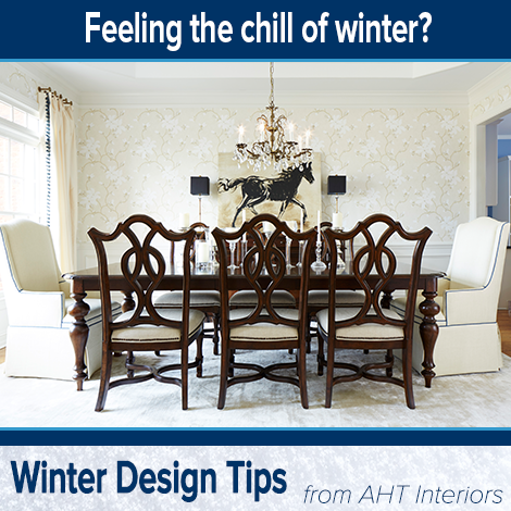 Here's a quick tip to help create a home environment that feels warm during the cold winter months: - Make sure your home has adequate lighting. Different levels of lighting are best: avoid using overhead lights and include table lamps, floor lamps and accent lamps into your lighting scheme. - Add timers to a few lamps in your home so you are greeted by the warm glow of light at the end of a long day.