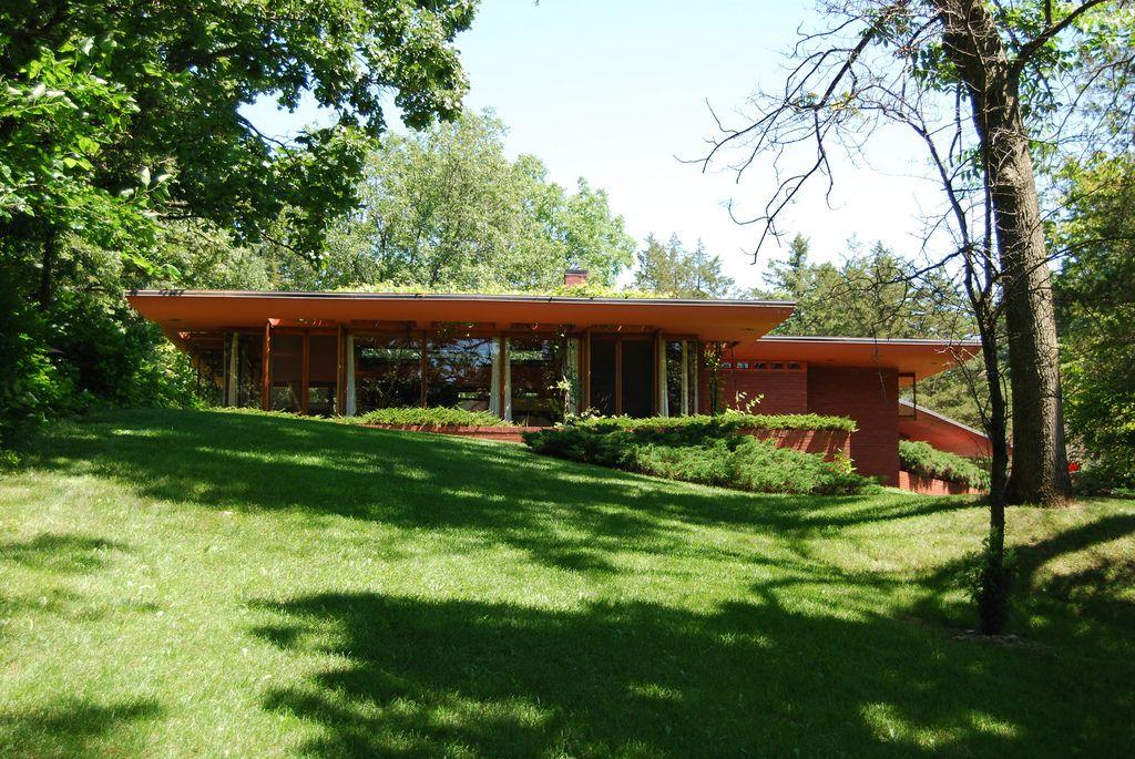 Pin On Frank Lloyd Wright Usonian Homes