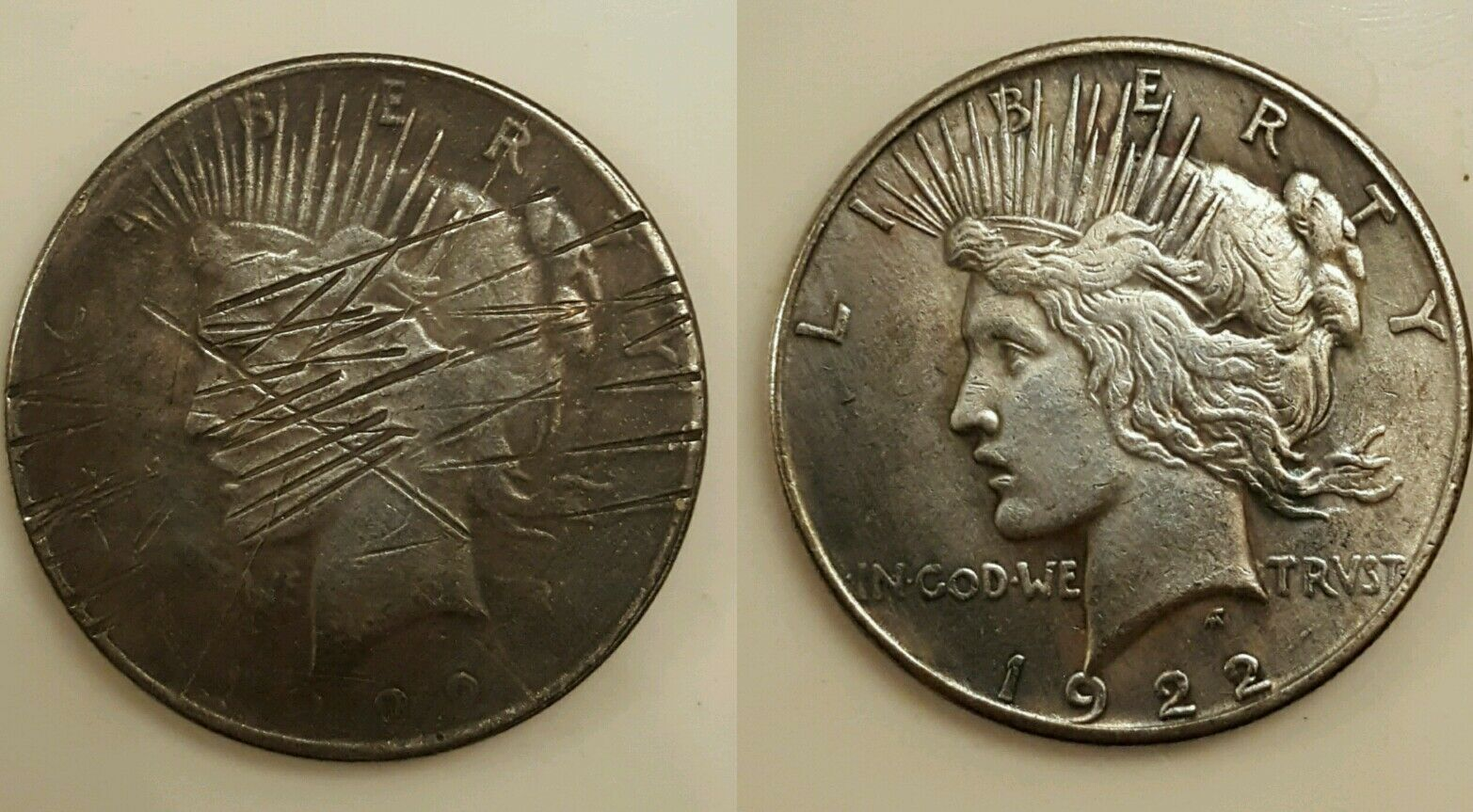 Magic Trick Coin Two Face Morgan Dollar Two Tails Fantasy Coin