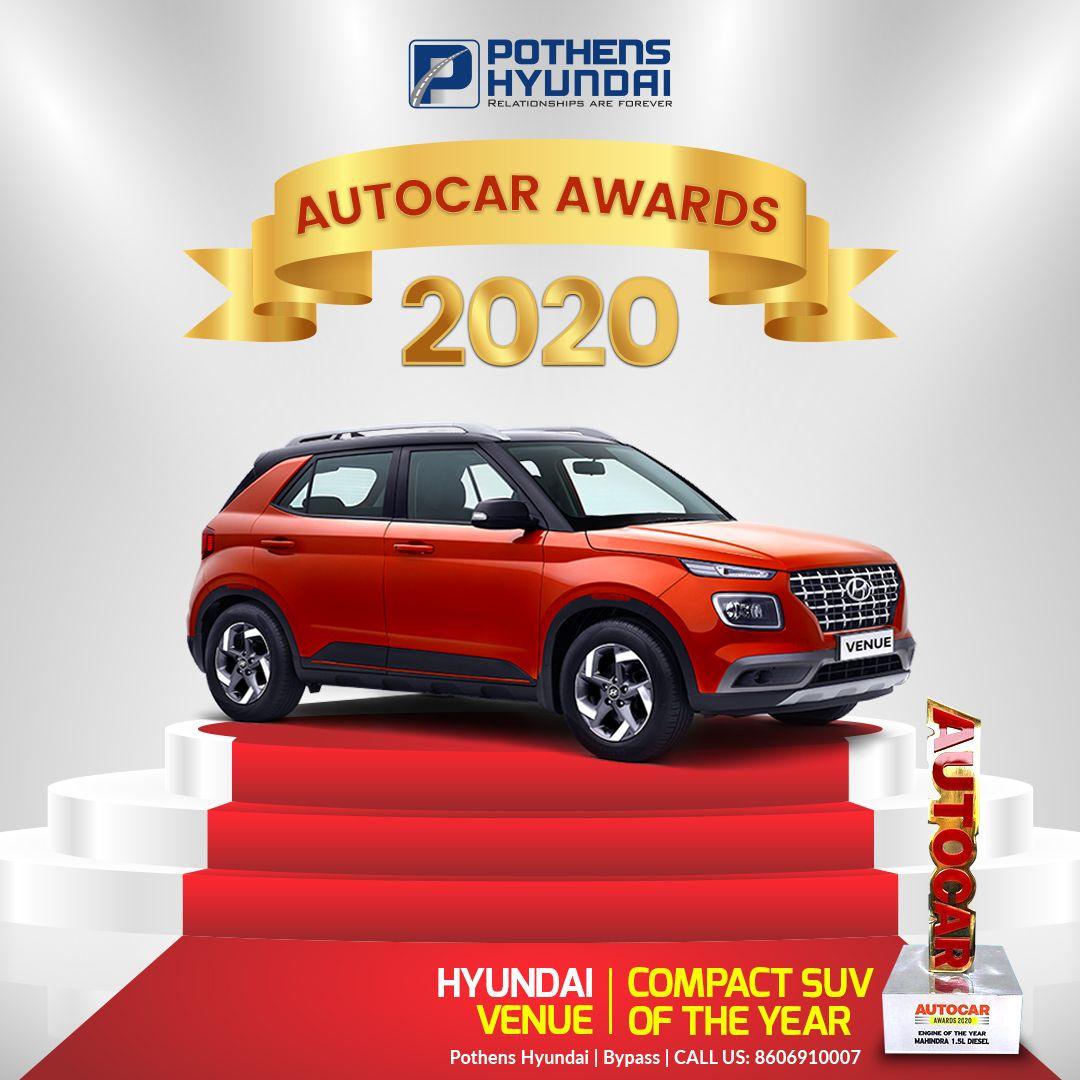 Auto Car Award Hyundai Cars Hyundai Compact Suv